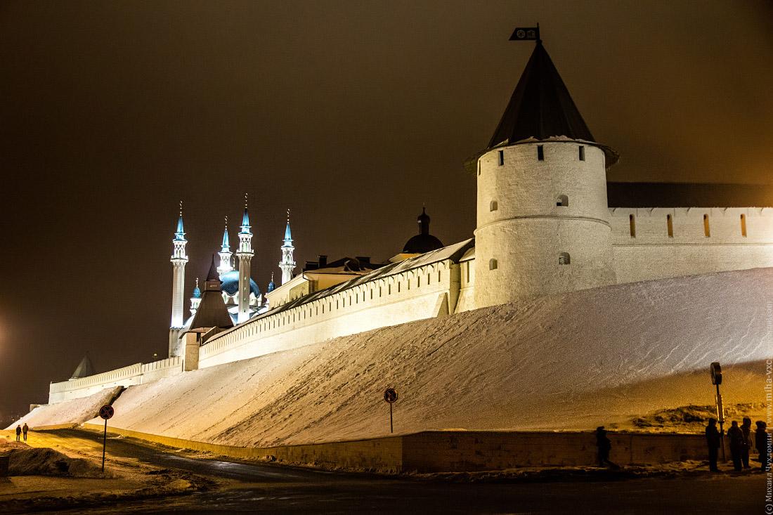 Стены Кремля Казань
