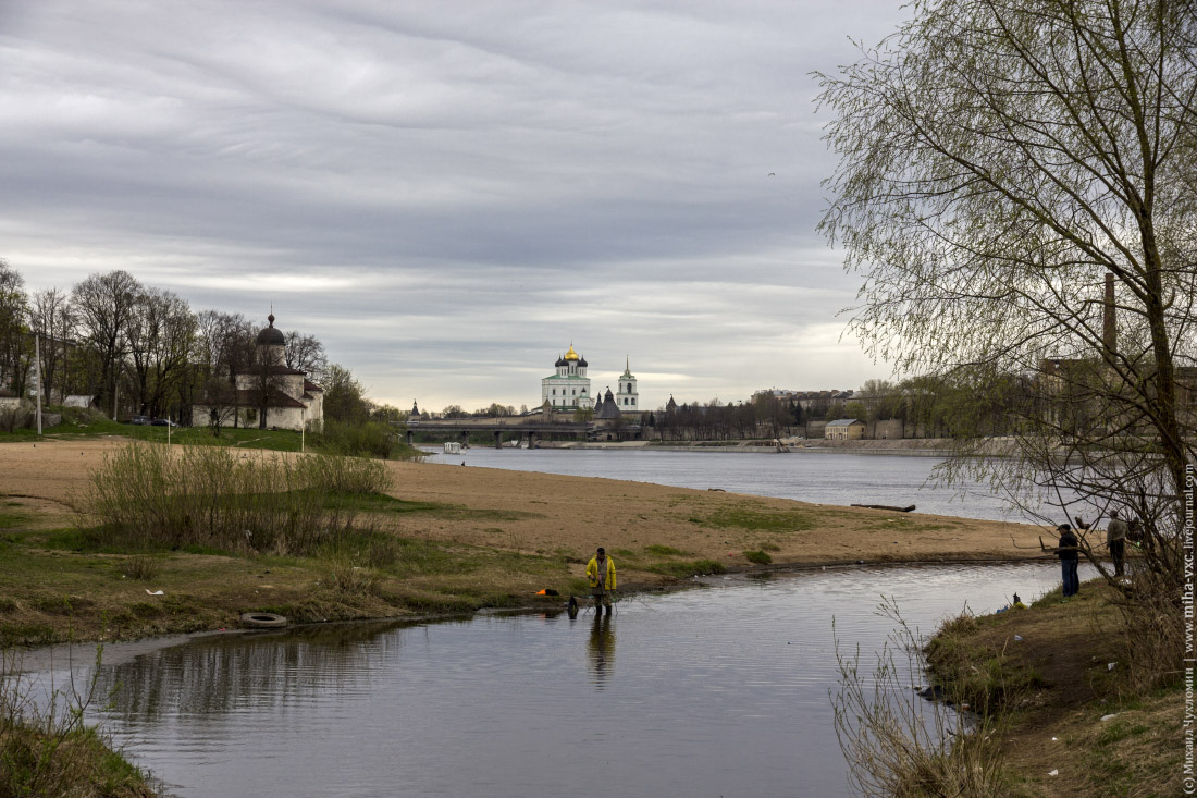 центр Пскова
