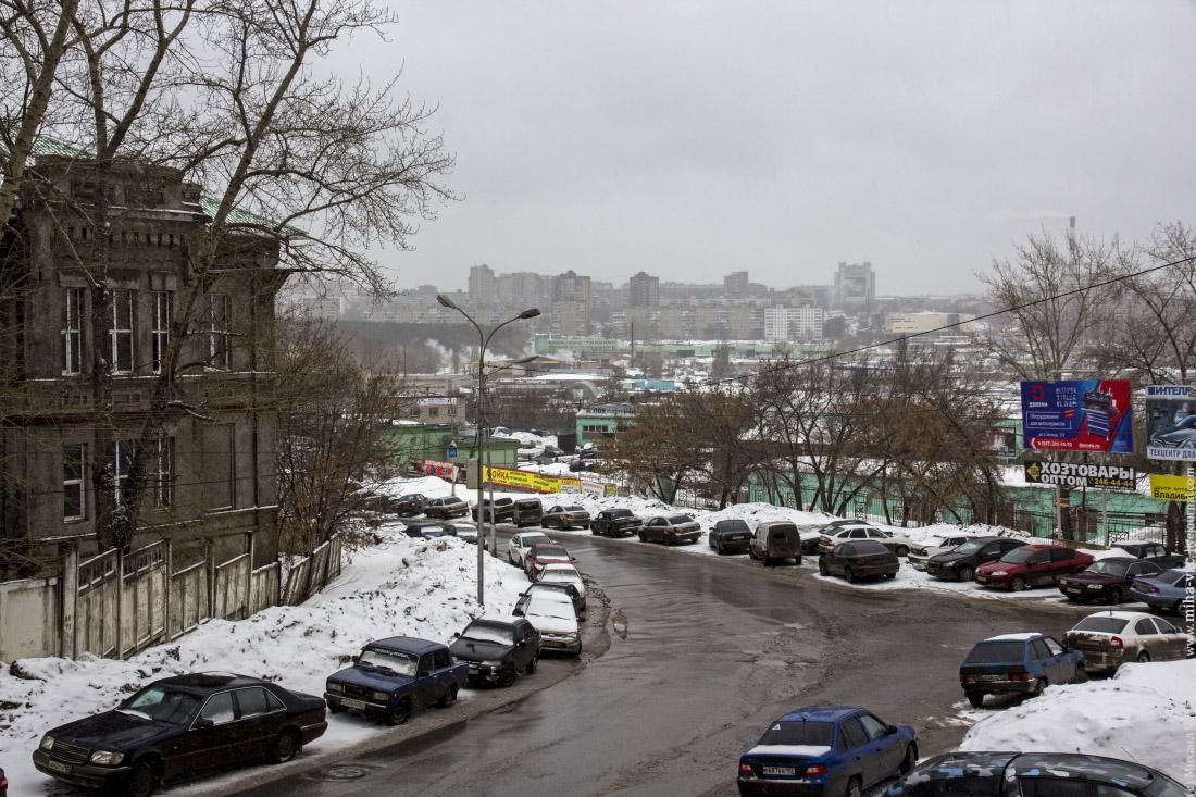 Уфа в снегу