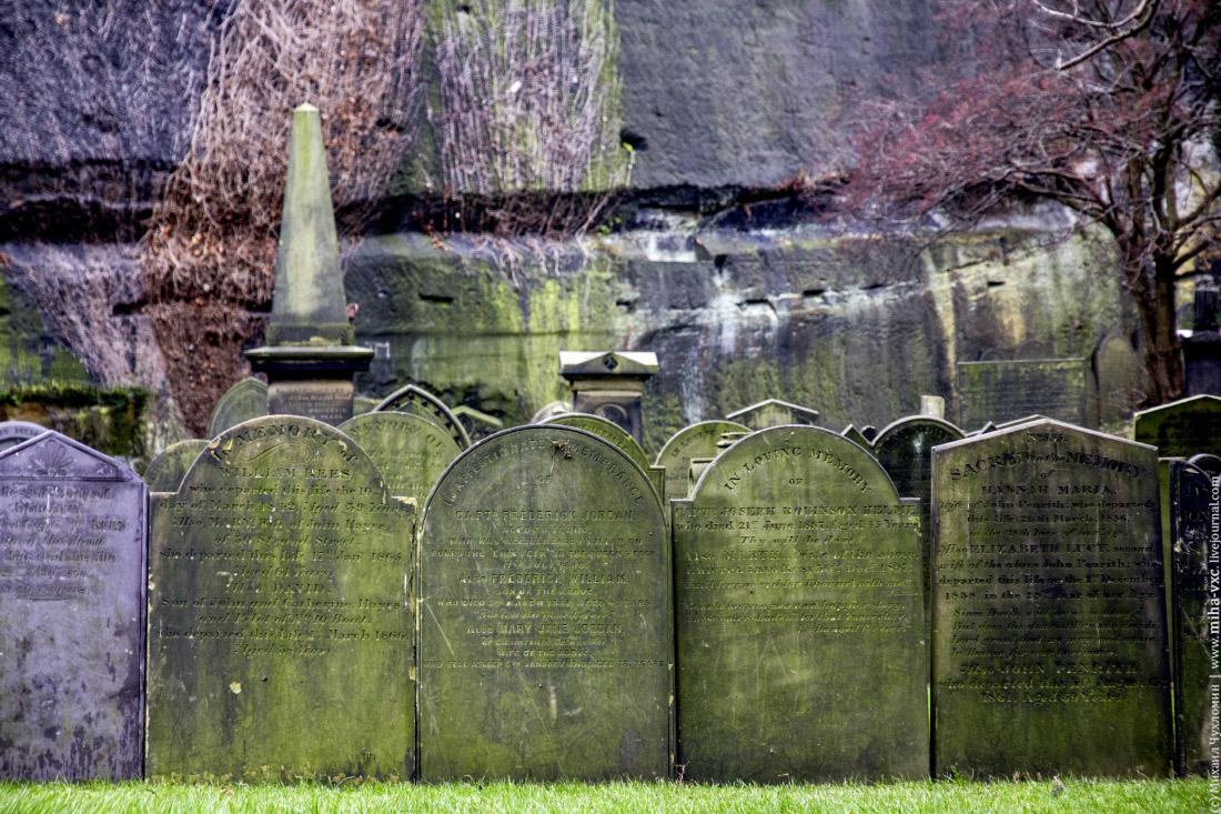 кладбище в Ливерпуле